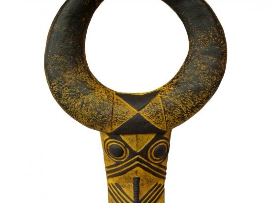 Závěsná dekorativní maska DOGON