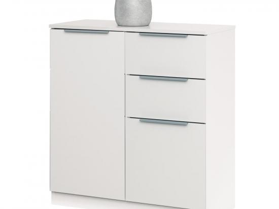 Prádelník CHEST 250531 bílý