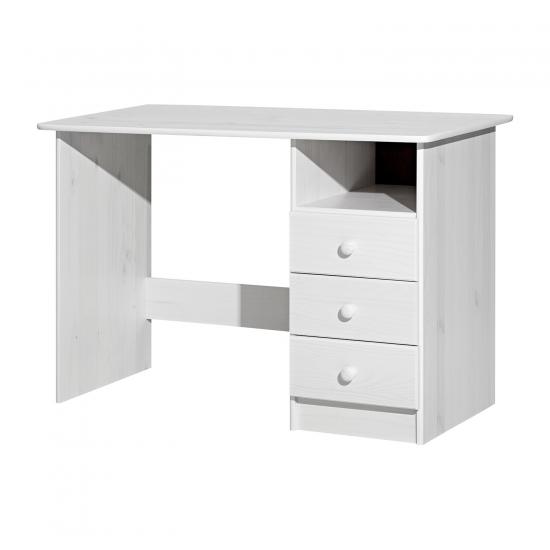 PC stůl 8844B bílý lak