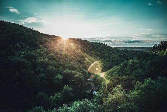 Obraz Údolí Karlštejn