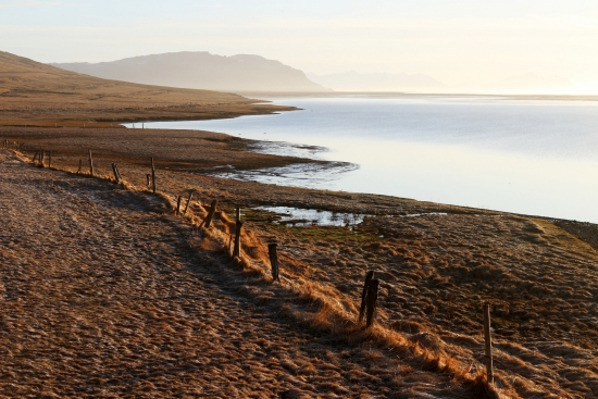 Obraz Východ slunce v Hali (Island)