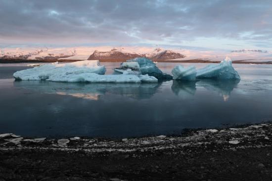 Obraz Plovoucí ledovce II, Jökulsárlón, Island