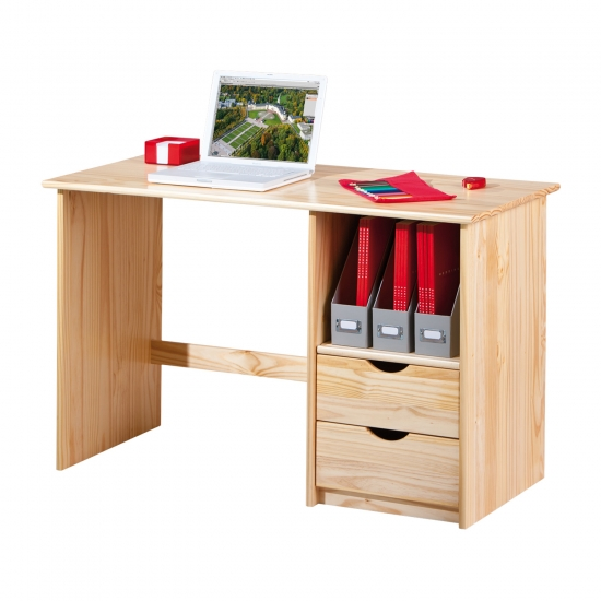 PC stůl SINUS lak