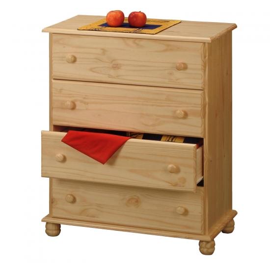 Prádelník 4 zásuvky 8014