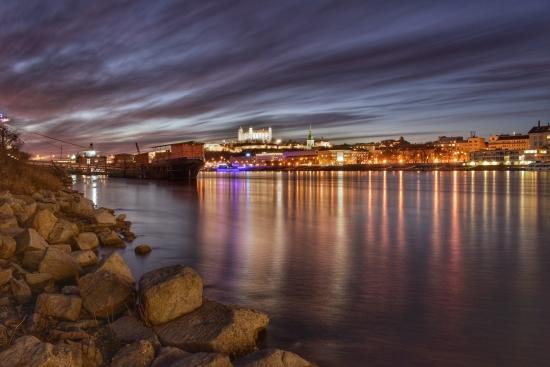 Obraz Bratislava na Dunaji II