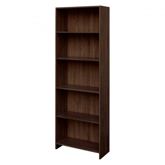 Knihovna BEST dub čokoláda