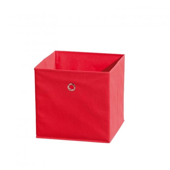 Winny - textilní box, červený