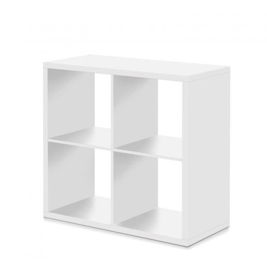 Knihovna MAX 4 kostka bílá