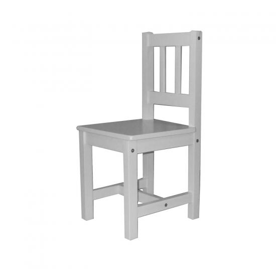 Dětská židle 8867 bílá
