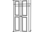 Skříň 2 dveřová 8860 lakovaná