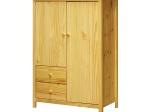 Prádelník 2 dveře + 2 zásuvky TORINO