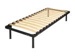 Kovová postel AMERIKA 90x200 černá