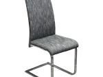 Jídelní židle černobílý melír