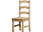 Židle CORONA vosk 160204