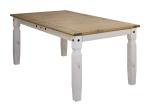 Jídelní stůl 178x92 CORONA bílý vosk
