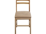 Jídelní židle MIRA buk/světle hnědá