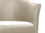 Křeslo ANCONA krémově bílé P33