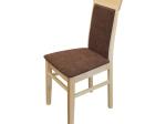 Jídelní židle OLI buk/tmavě hnědá