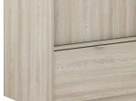 Skříň s posuvnými dveřmi PERFECT dub