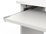 PC stůl DELTA bílý