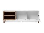 TV stolek MENORCA 56A světlý antik/bílá