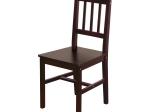 Židle 869H tmavohnědý lak