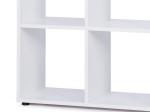 Knihovna BERGAMO 1 bílá