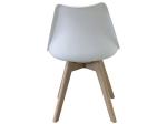 Jídelní židle QUATRO bílá