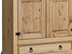 Skříň 5dveřová CORONA vosk 162819
