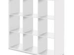 Knihovna MAX 9 bílá