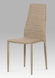 Jídelní židle látka cappuccino