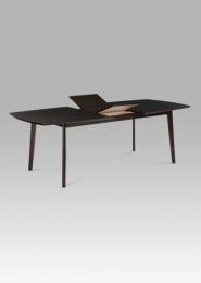 Jídelní stůl rozkládací 180+44x100 cm, barva wenge