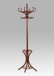 Věšák dřevěný - tm.hnědá  v. 186 cm