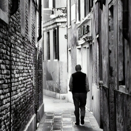 Obraz Ulička v Benátkách