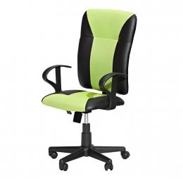Kancelářské křeslo KING zelené K86