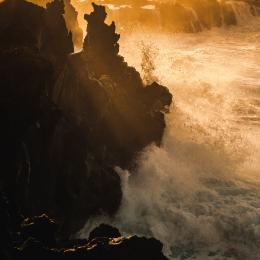 Obraz Rozbouřené pobřeží Atlantiku