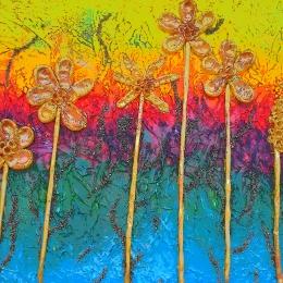 Obraz Květiny na letní louce