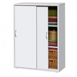 Skříňový prádelník 601 bílý