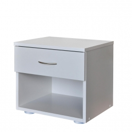 Noční stolek 140 bílá