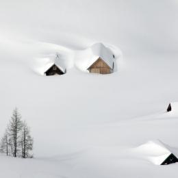 Obraz Zimní romance