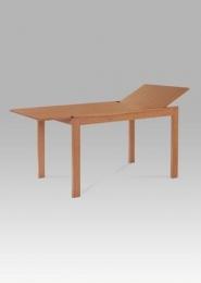 Jídelní stůl rozkládací, 120+44x80 cm, barva buk (T-4645)