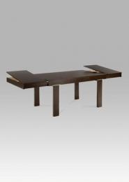 Jídelní stůl rozkládací 150+45+45x90 cm, barva ořech (BT-4202)