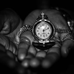 Obraz Čas v hrsti