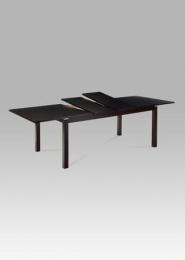 Jídelní stůl rozkládací 180+40+40x100 cm, barva wenge