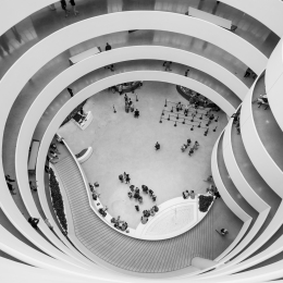 Obraz Guggenheim Museum - New York