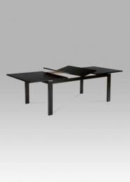 (T-4600) Jídelní stůl rozkládací 180+44+44x100 cm, barva wenge