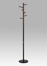 Věšák, v. 180 cm, černá / ořech