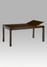 Jídelní stůl rozkládací 120+44x80 cm, barva ořech