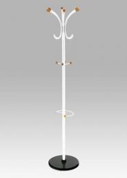 Věšák, v. 179 cm, bílá