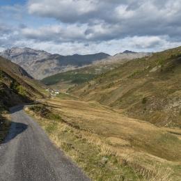 Krajina v Itálii blízko Livigna